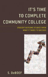 Omslag - It's Time to Complete Community College