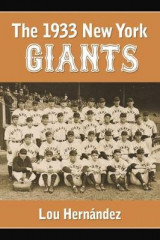 Omslag - The 1933 New York Giants