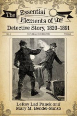 Omslag - The Essential Elements of the Detective Story, 1820-1891