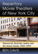 Omslag - Repertory Movie Theaters of New York City