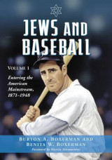 Omslag - Jews and Baseball: Volume 1