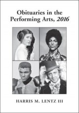 Omslag - Obituaries in the Performing Arts 2016