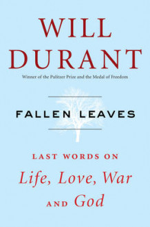 Fallen Leaves av Will Durant (Innbundet)
