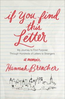 If You Find This Letter av Hannah Brencher (Innbundet)