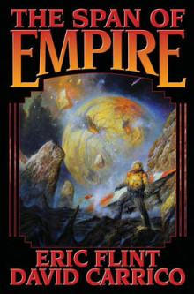 Span of Empire av Eric Flint (Innbundet)