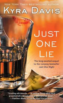 Just One Lie av Kyra Davis (Heftet)