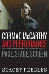 Omslag - Cormac McCarthy and Performance