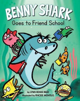 Omslag - Benny Shark Goes to Friend School