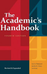 Omslag - The Academic's Handbook, Fourth Edition