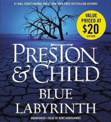 Blue Labyrinth av Douglas Preston (Lydbok-CD)
