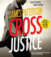 Cross Justice av James Patterson (Lydbok-CD)
