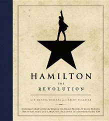 Hamilton: The Revolution av Lin-Manuel Miranda (Lydbok-CD)