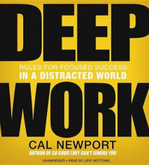 Deep Work av Cal Newport (Lydbok-CD)