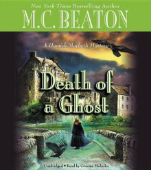 Death of a Ghost av M C Beaton (Lydbok-CD)