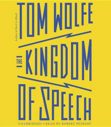 The Kingdom of Speech av Tom Wolfe (Lydbok-CD)