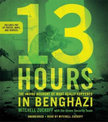 13 Hours av Mitchell Zuckoff (Lydbok-CD)