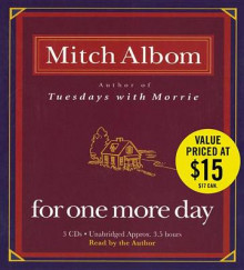For One More Day av Mitch Albom (Lydbok-CD)