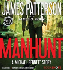 Manhunt av James Patterson (Lydbok-CD)