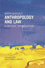 Omslag - Anthropology and Law