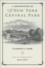 Omslag - A Description of the New York Central Park
