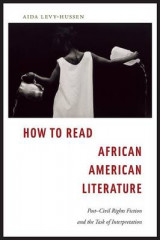 Omslag - How to Read African American Literature