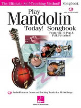 Omslag - Play Mandolin Today Songbook
