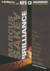 Brilliance av Marcus Sakey (Lydbok-CD)