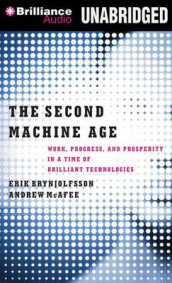 The Second Machine Age av Erik Brynjolfsson og Andrew McAfee (Lydbok-CD)