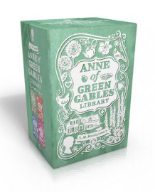 Anne of Green Gables Library: Anne of Green Gables; Anne of Avonlea; Anne of the Island; Anne's House of Dreams av L. M. Montgomery (Heftet)
