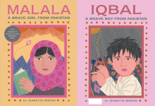 Malala a Brave Girl from Pakistan/Iqbal a Brave Boy from Pakistan av Jeanette Winter (Innbundet)