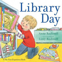 Library Day av Anne Rockwell (Heftet)
