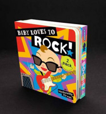 Baby Loves to Rock! & Baby Loves to Boogie! 2-Pack av Wednesday Kirwan (Pappbok)