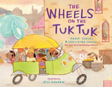 The Wheels on the Tuk Tuk av Kabir Sehgal og Surishtha Sehgal (Innbundet)