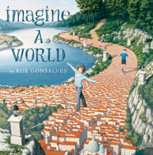 Imagine a World av Rob Gonsalves (Innbundet)