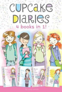 Cupcake Diaries 4 Books in 1! av Coco Simon (Innbundet)