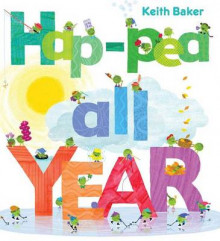 Hap-Pea All Year av Keith Baker (Innbundet)