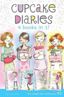 Cupcake Diaries 4 Books in 1! #2: Katie, Batter Up!; Mia's Baker's Dozen; Emma All Stirred Up!; Alexis Cool as a Cupcake av Coco Simon (Innbundet)