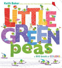 Little Green Peas av Keith Baker (Pappbok)