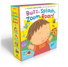 Buzz, Splash, Zoom, Roar! av Karen Katz (Pappbok)