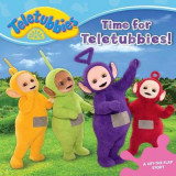 Omslag - Time for Teletubbies!