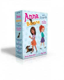 Anna, Banana, and Friends -- A Four-Book Collection! av Anica Mrose Rissi (Innbundet)