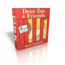 Dear Zoo & Friends av Rod Campbell (Pappbok)