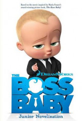 Omslag - The Boss Baby Junior Novelization