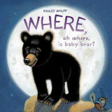 Omslag - Where, Oh Where, Is Baby Bear?