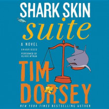 Shark Skin Suite av Tim Dorsey (Lydbok-CD)