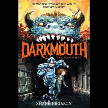 Darkmouth: The Legends Begin av Shane Hegarty (Lydbok-CD)