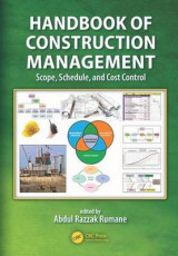 Omslag - Handbook of Construction Management