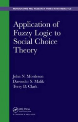 Omslag - Application of Fuzzy Logic to Social Choice Theory