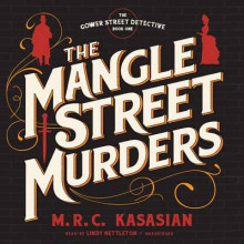 The Mangle Street Murders av M R C Kasasian (Lydbok-CD)