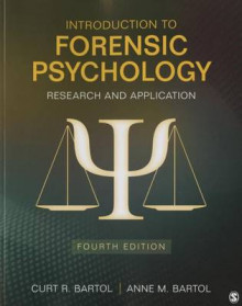 Introduction to Forensic Psychology av Curtis R. Bartol og Anne M. Bartol (Heftet)